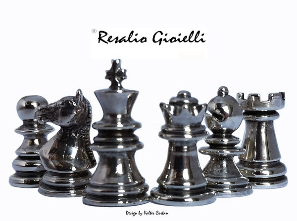 Resalio Gioielli The Chess Cufflinks Collection