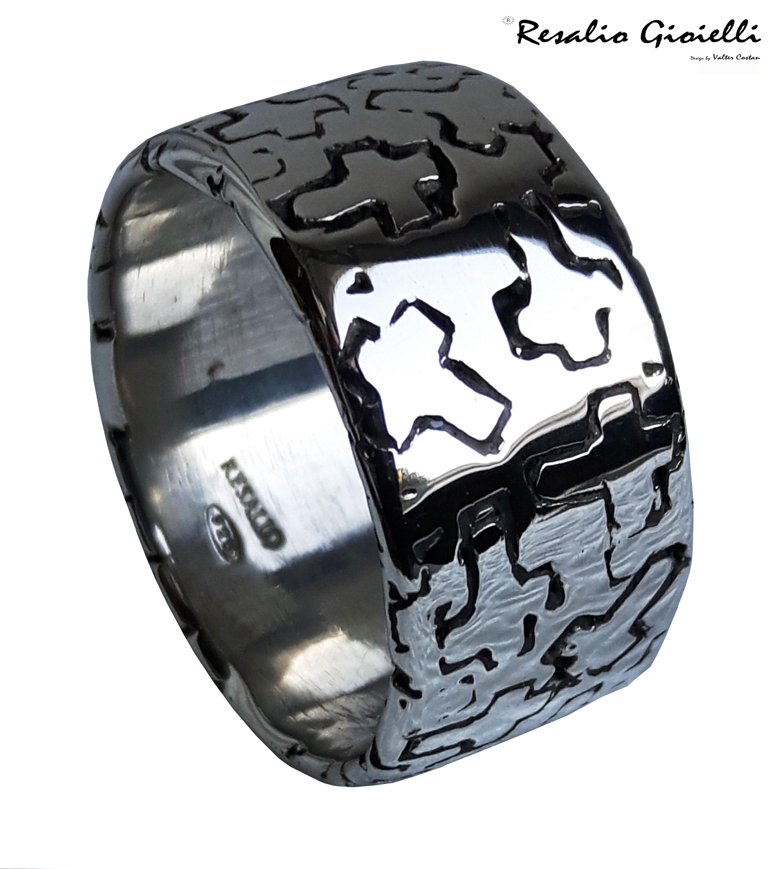 Resalio Ring Fascia Croce r
