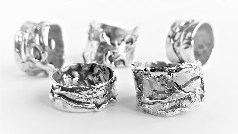 Resalio Gioielli Fusion Metal Ring Collection