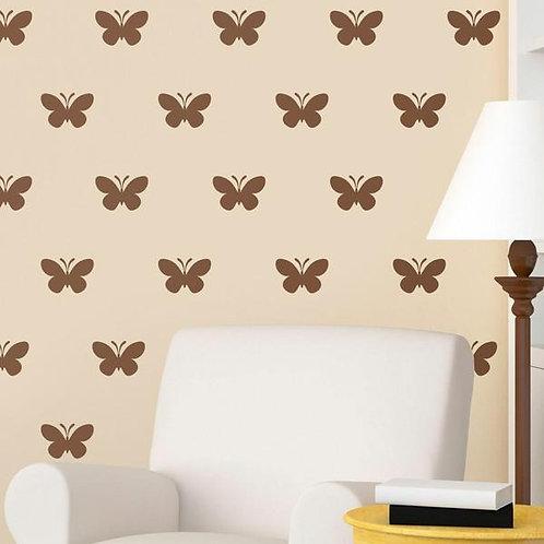 Vinilo decorativo Kit de 24 Mariposas