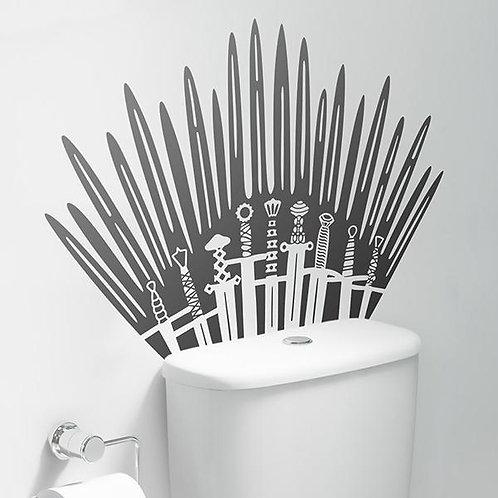 Vinilo para el baño del Trono de Hierro