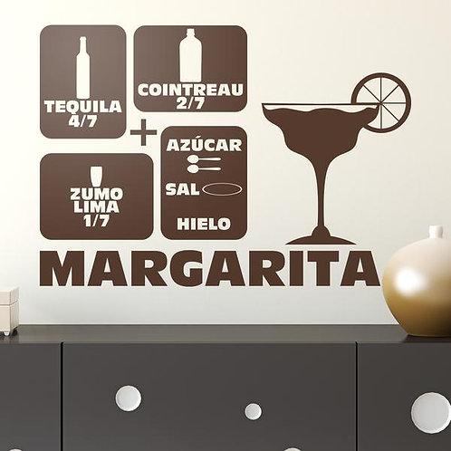 Vinilo decorativo cóctel Margarita