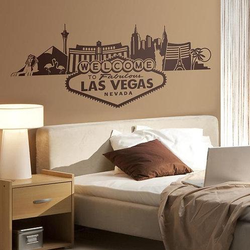 Vinilo decorativo Skyline Las Vegas