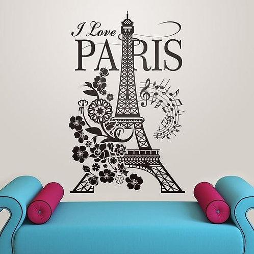 Vinilo I Love Paris