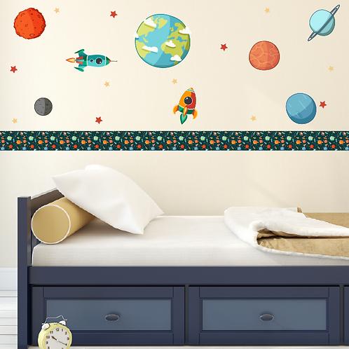 Paquete Espacio con planetas