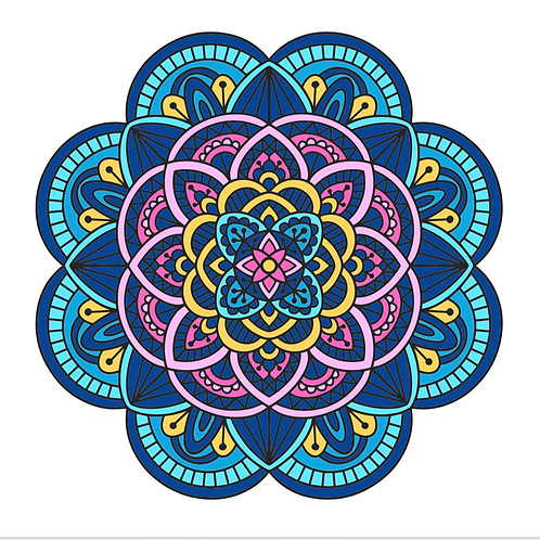 Mandalas Circulares D6