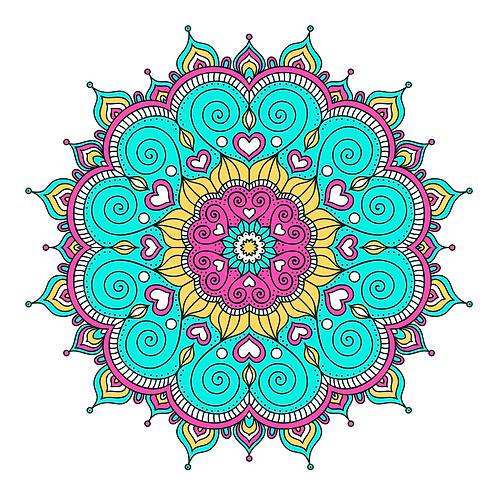Mandalas Circulares D11