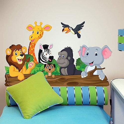 Respaldar para cama de Animalitos