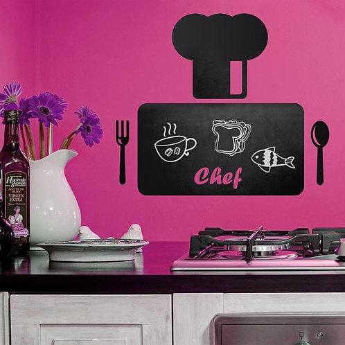 Vinilo para cocina Chef 2