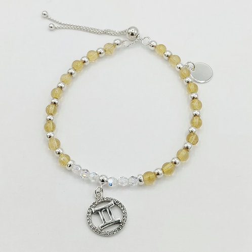 GEMINI Zodiac Bracelet 22nd May - 20th June