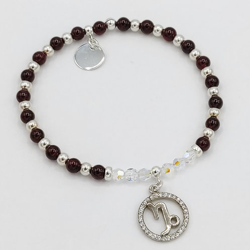 CAPRICORN Zodiac Bracelet 22nd Dec - 20th Jan - Constant Spiritual Support Range