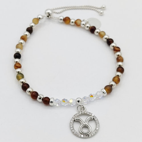 TAURUS Zodiac Bracelet 22nd April - 21st May