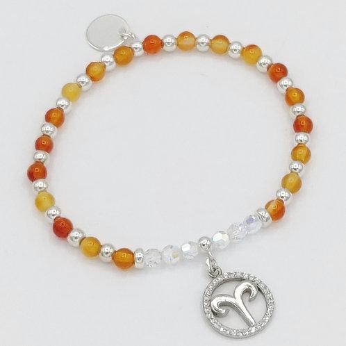 ARIES Zodiac Bracelet 21st March - 21st April Constant Spiritual Support Range