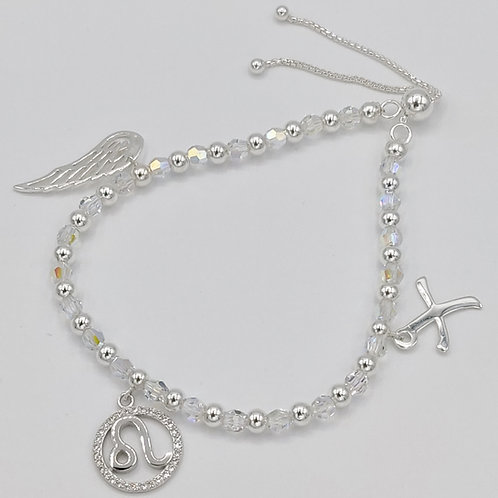 Angel Wing Zodiac Bracelet