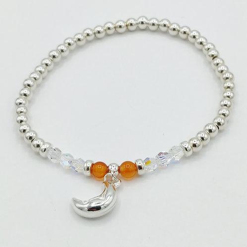 Zodiac Moon Bracelet