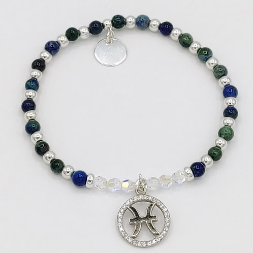 PISCES Zodiac Bracelet 21st Feb - 20th Mar - Constant Spiritual Support Range