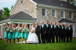 Utley Wedding Party