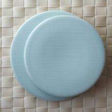 ランチョンマット、和食器水色