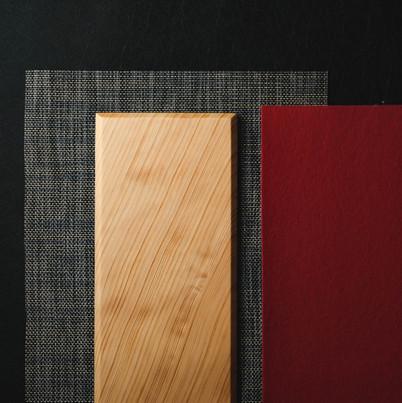 ランチョンマット、和木製プレート