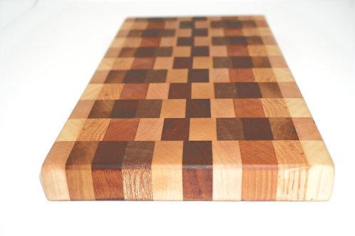 Dark End Cut Handmade Cutting Board