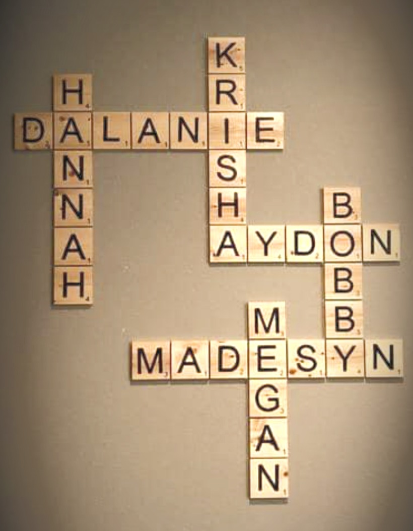 Custom Wood Scrabble Name Pieces Large.j