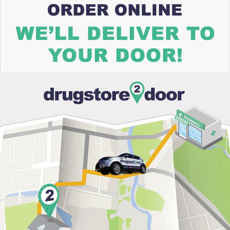 Your Rx FAST Same Day or Next Day Pickup or Use Our Delivery