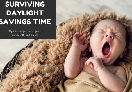 """3 Simple Tips to Survive """"Spring Forward"""" with a Little One"""