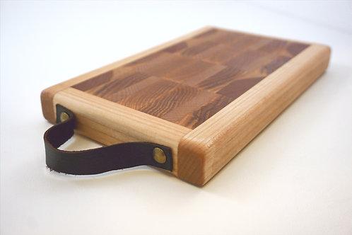 Leather Strap End Cut Board