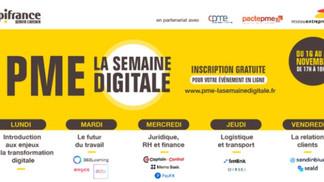 Du 16 au 20  Novembre 2020 - PME La semaine du digital