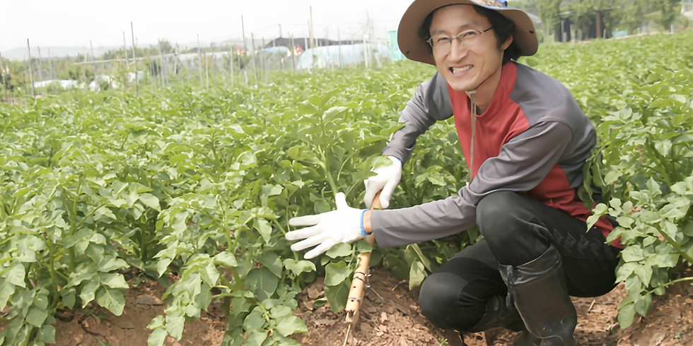 치유농업 토크콘서트 2탄! - 고양시 찬우물농장 이상린 대표