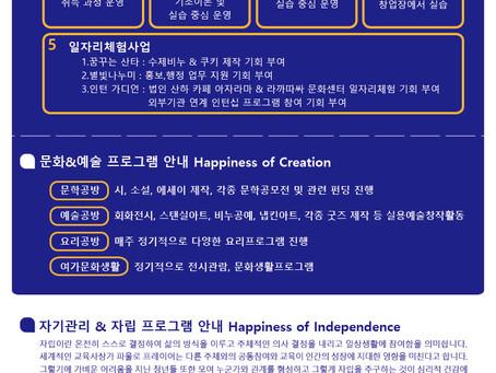 2020년 청년행복학교별 신입생 모집안내!