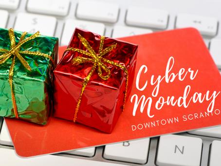 Shop Online. Shop Local. Shop Cyber Monday!