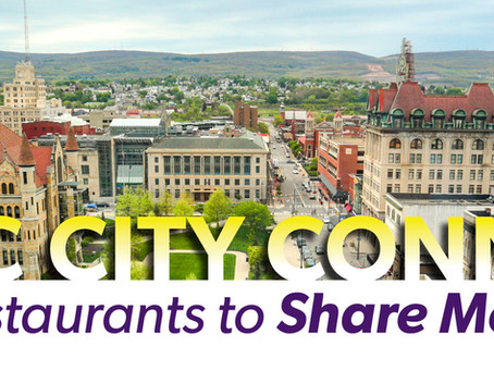 Electric City Connection Partners Welcome Rally for Restaurants