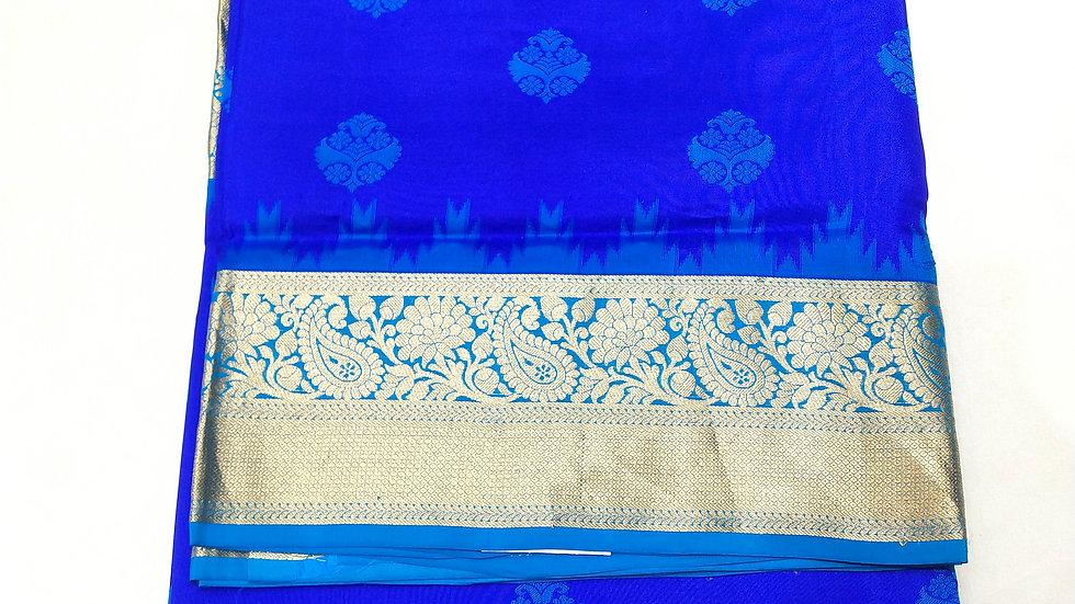 Pure Soft Silk Royal Blue