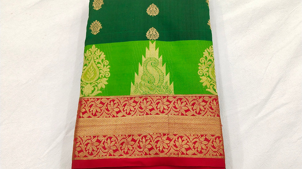 Saree Bottle Green