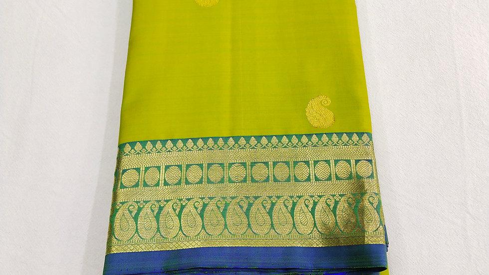Saree Lime Green