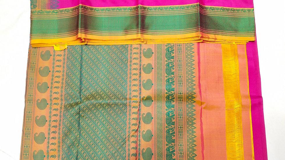 Pure Silk Rani Color