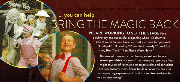You can help bring the magic back graphi