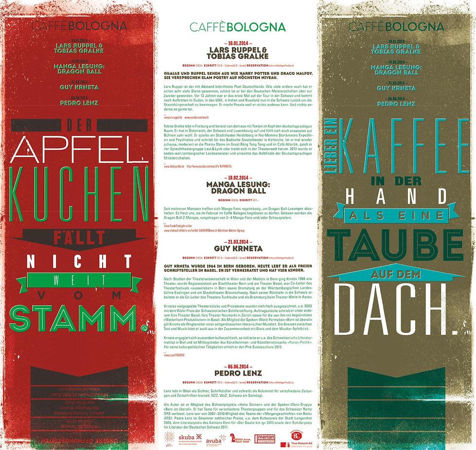 Caffè Bologna Flyer