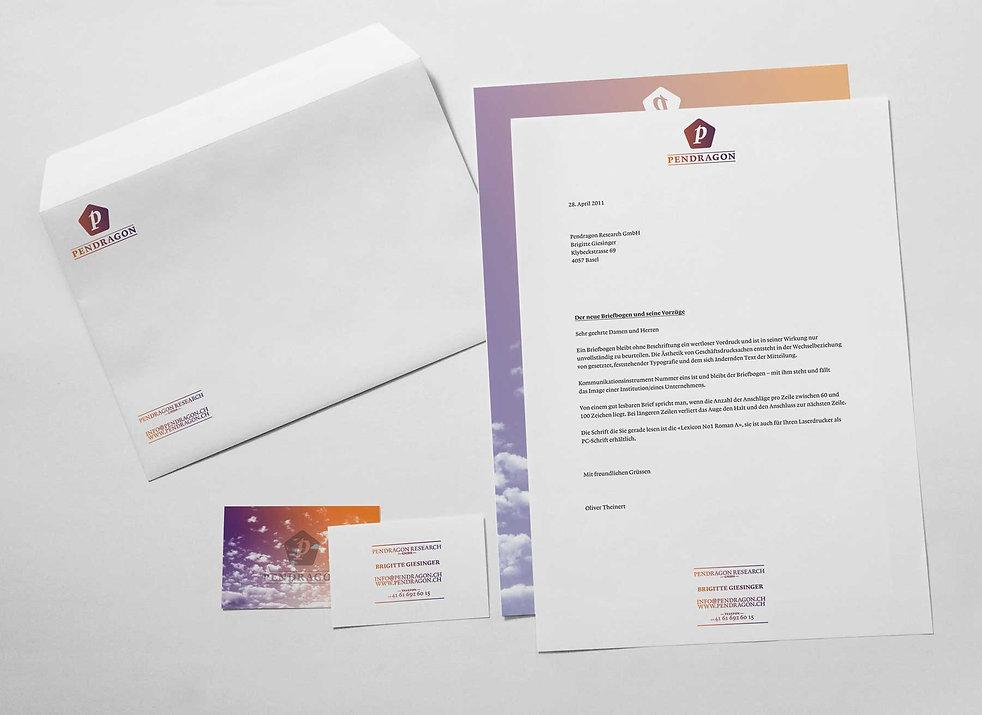 Pendragon Forschungs GmbH Briefschaft