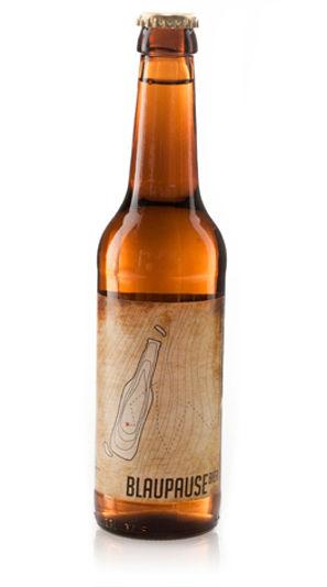 Blaupause Bier | Etiketten-Design