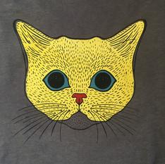 Cat   4 color print