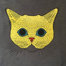 Cat   4 color print