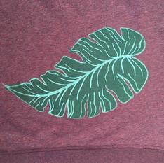 Leaf  2 color print