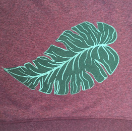 Leaf  2 color print