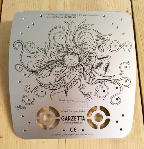 Garzetta,  Design for Garzetta, a template for computers
