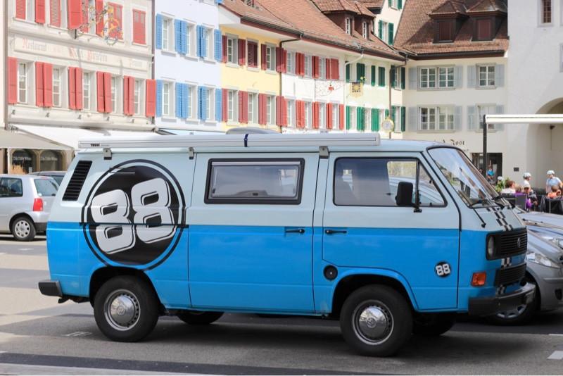 UNterbodenkiste am VW T3