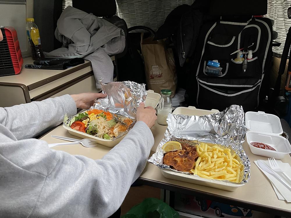 Take Away Nachtessen im Billi