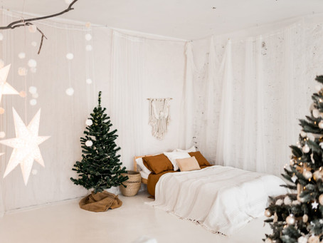 Christmas photoshoots in studios