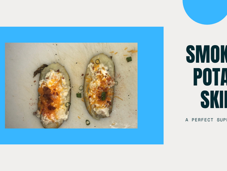 Smoked Potato Skins: